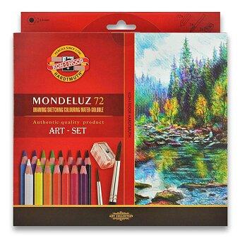Obrázek produktu Akvarelové pastelky Koh-i-noor Mondeluz 3714 - 72 barev