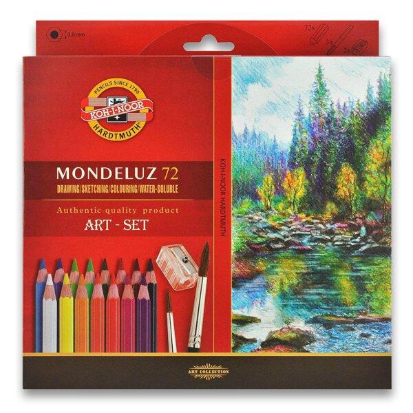 Akvarelové pastelky Koh-i-noor Mondeluz 3714 72 barev KOH-I-NOOR