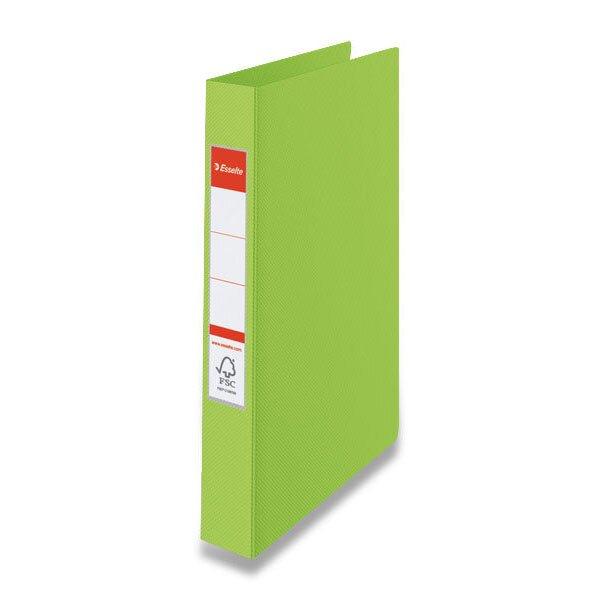 4kroužkový pořadač Esselte zelený