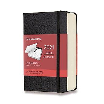 Obrázek produktu Denní stolní kalendář Moleskine 2021 - 9 x 14 cm