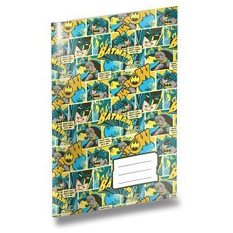 Obrázek produktu Školní sešit Batman 444 - A4, linkovaný, 40 listů