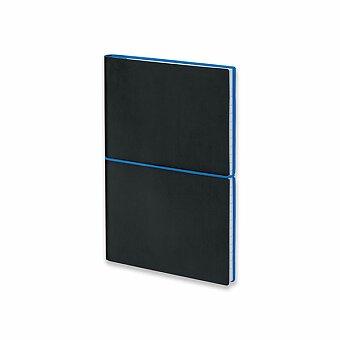 Obrázek produktu BLOGER - poznámkový zápisník s gumičkou 145x210 mm, výběr barev