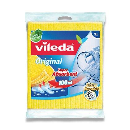 Obrázek produktu Vileda - houbová utěrka, 3 ks