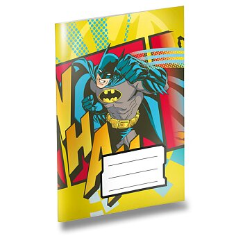 Obrázek produktu Školní sešit Batman - A6, linkovaný, 20 listů