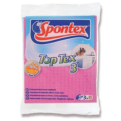 Obrázek produktu Spontex TopTex - houbová utěrka, 3 ks
