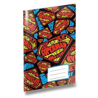Obrázek produktu Školní sešit Superman - A5, čistý, 40 listů