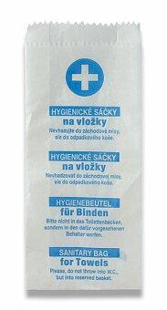 Obrázek produktu Hygienické sáčky papírové - 100 ks