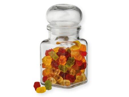 Obrázek produktu GUMMY - skleněná dóza s želatinovými medvídky, 105 g
