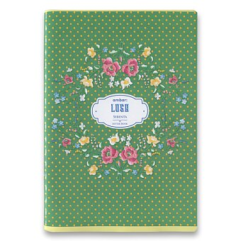 Obrázek produktu Školní sešit Ambar Lusa - A5, linkovaný, 60 listů, mix motivů