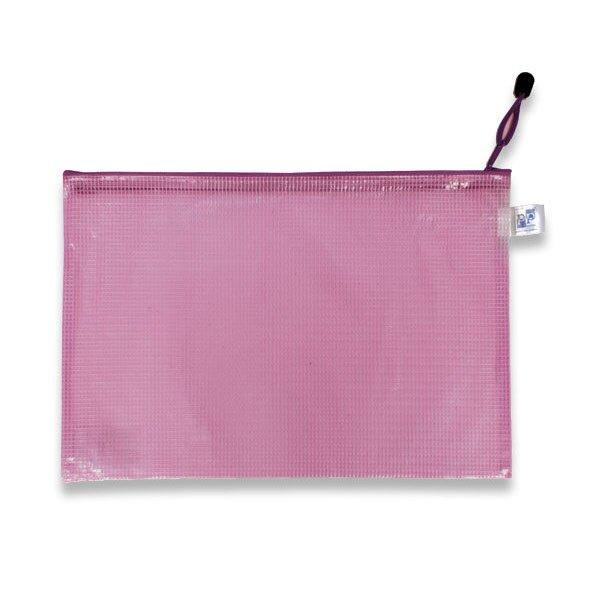 Plastová obálka růžová