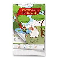 Rodinný plánovací kalendář 2020