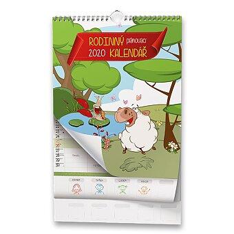 Obrázek produktu Rodinný plánovací kalendář 2020