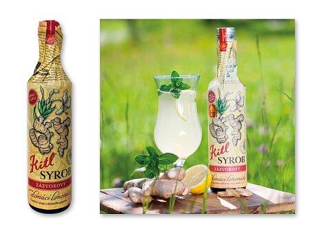 Obrázek produktu GINGER DRINK - zázvorový sirup , 500 ml