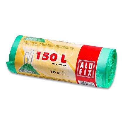 Obrázek produktu Alufix - pytle na odpadky - 150 l, 10 ks, 26 mikronů