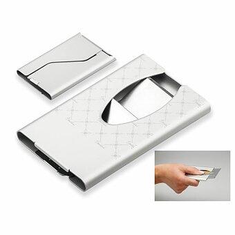 Obrázek produktu PAMIKA - kovový vizitkář, stříbrná