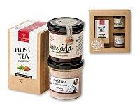 ALMOND PLEASURE III - dárk. Kazeta-mandlový čaj, paštika s mandlovicí, wineláda s mandl., přírodní