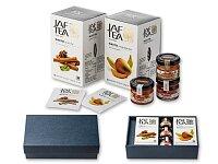 SWEETEA II - dárková sada - 2 × čaj, med, 2 × džem