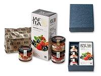 SWEETEA I - dárková sada - čaj, med, 2 × džem