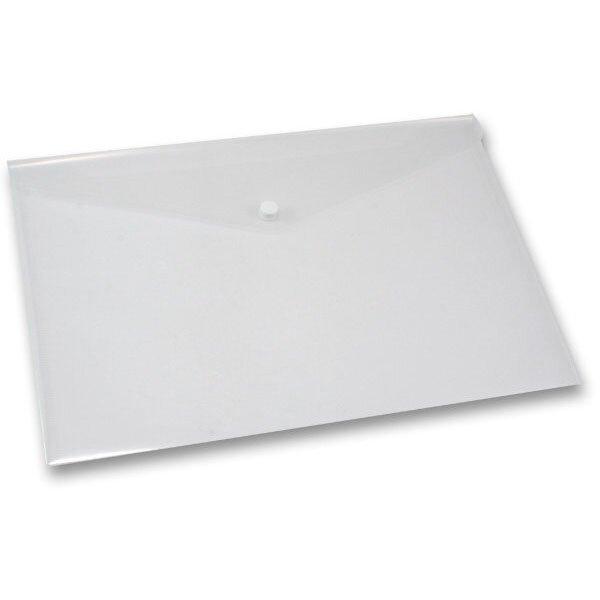 Spisovka s drukem FolderMate Clear průhledná, A4