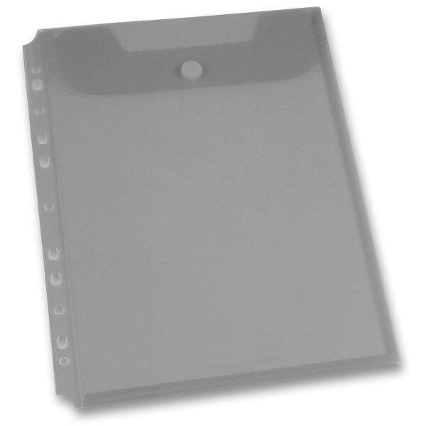 Spisovka závěsná FolderMate Clear kouřová, A4