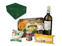 SASSARI - střední dárk. sada italských potravin s vínem Soave TdF