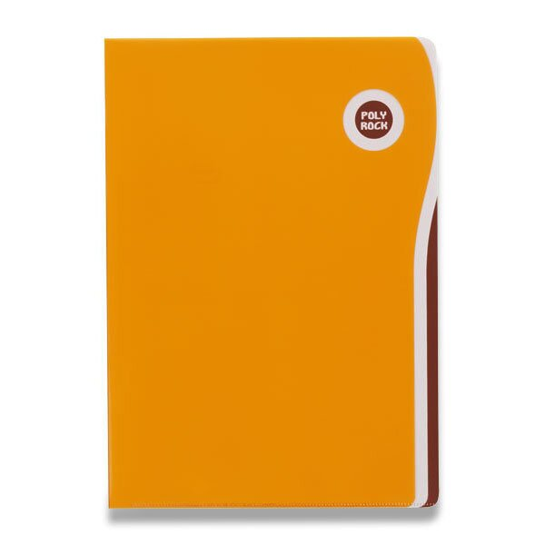 Zakládací desky Poly Rock A5 oranžové