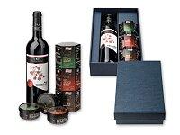 BURGOS - dárková sada - víno, 3 × paštika