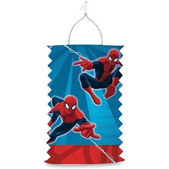 Obrázek produktu Papírový lampion Spiderman - délka 28 cm