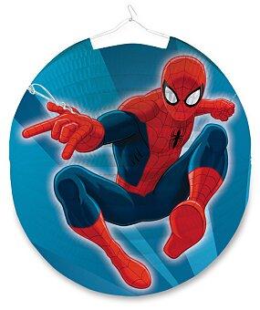 Obrázek produktu Papírový lampion Spiderman - průměr 25 cm
