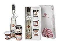 ALMOND PLEASURE II - dárk. kazeta-mandlovice, suš. rajčata, paštika a wineláda, bílá
