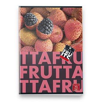 Obrázek produktu Školní sešit Pigna Fruits - A5, 40 listů, linkovaný