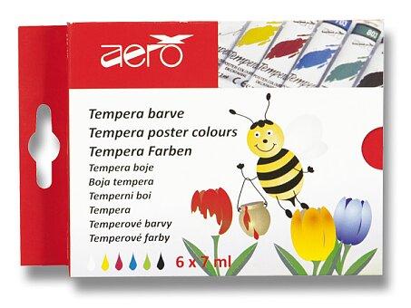 Obrázek produktu Temperové barvy Aero - 6 barev, tuba 7 ml