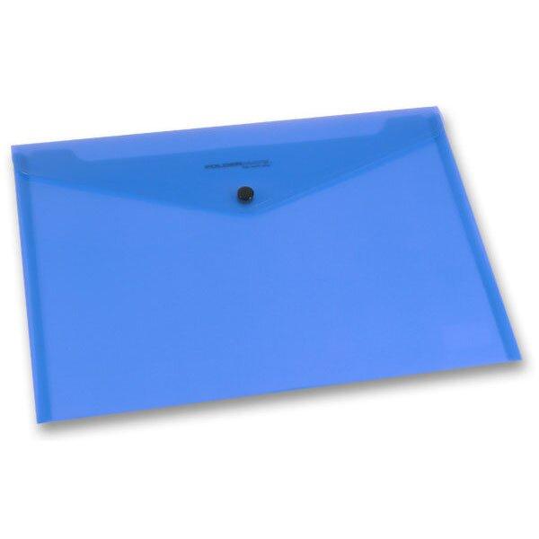 Spisovka s drukem FolderMate PopGear modrá, A4
