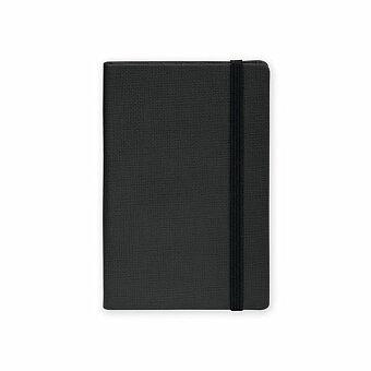 Obrázek produktu COLOR NOTE I - poznámkový zápisník s gumičkou 90x140 mm, výběr barev