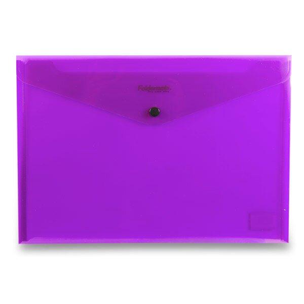 Spisovka s drukem FolderMate PopGear fialová, A4