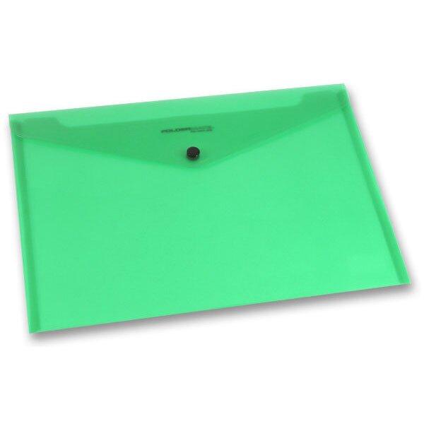 Spisovka s drukem FolderMate PopGear zelená, A4