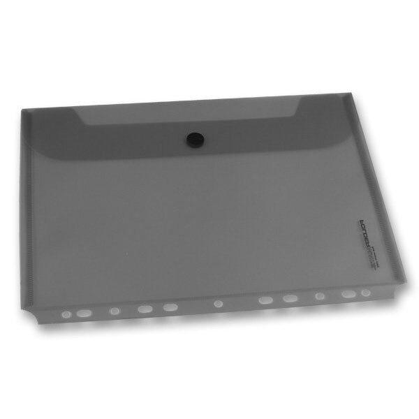 Zakládací obálka FolderMate PopGear kouřová, A4
