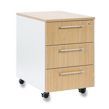 Product image Istra - mobile container - 3 drawers, beech