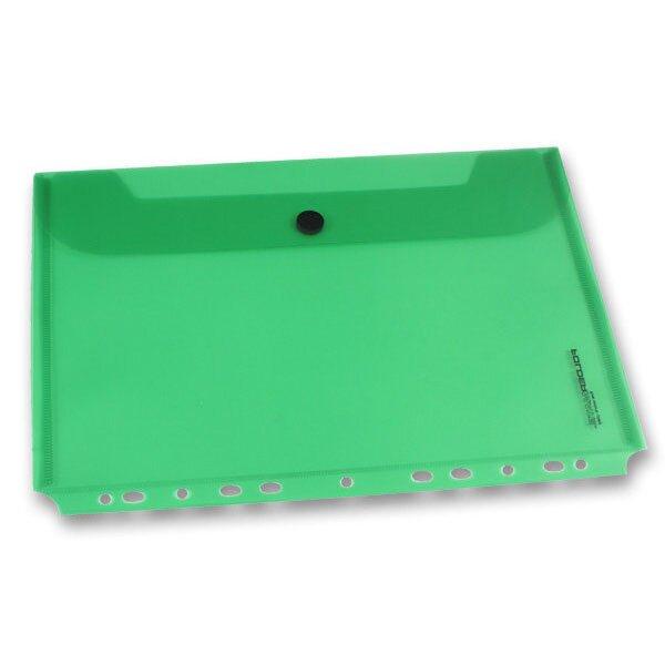 Zakládací obálka FolderMate PopGear zelená, A4
