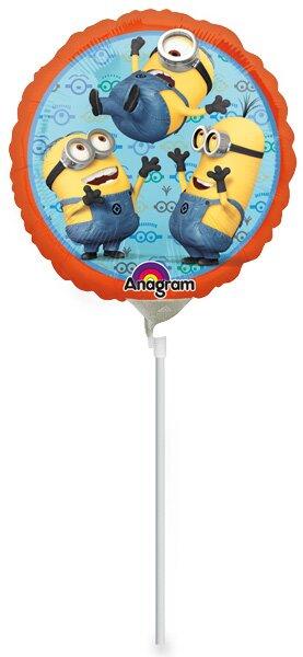 Fóliový party balónek kulatý Mimoni
