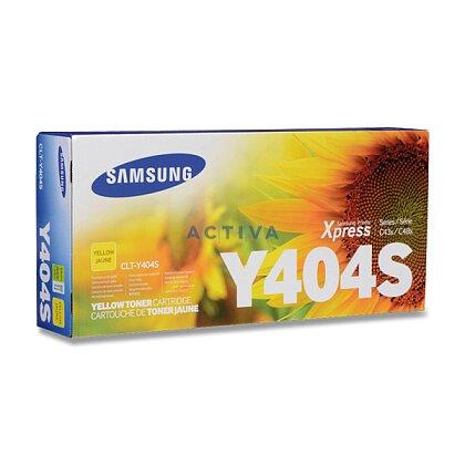 Obrázek produktu Samsung - toner CLT-Y404S yellow pro laserové tiskárny