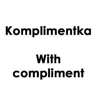 Obrázek produktu Komplimentka With compliment