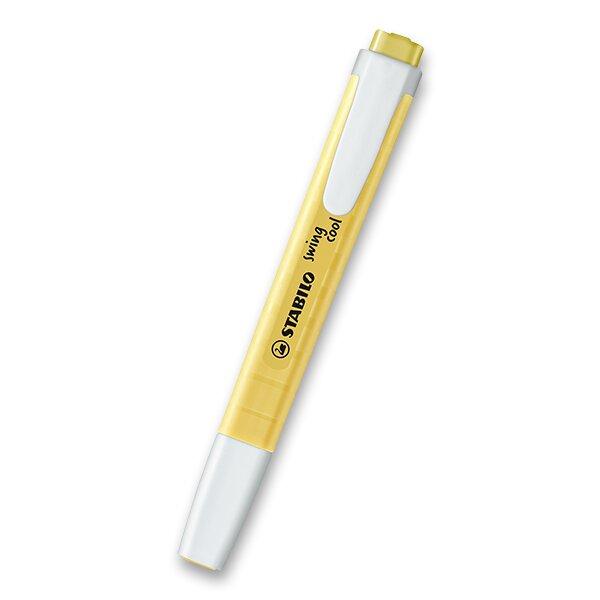 Zvýrazňovač Stabilo Swing Cool Pastel Edition žlutá
