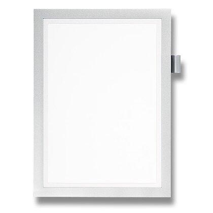 Obrázek produktu Durable Note A4 - informační panel - A4, stříbrný