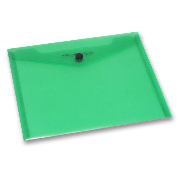 Spisovka s drukem FolderMate PopGear zelená, A5