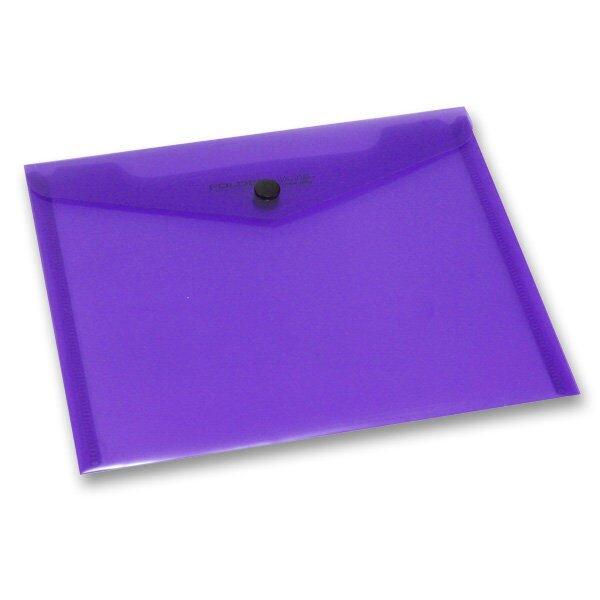 Spisovka s drukem FolderMate PopGear fialová, A5