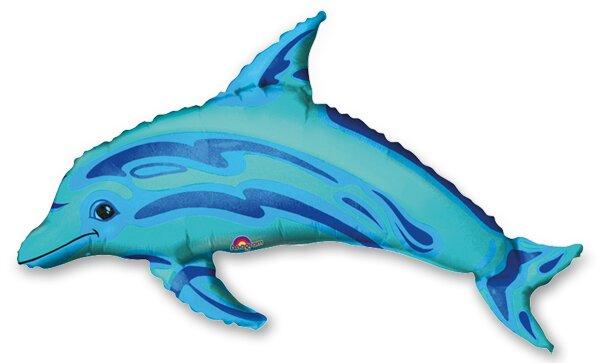 Fóliový party balónek 3D Delfín