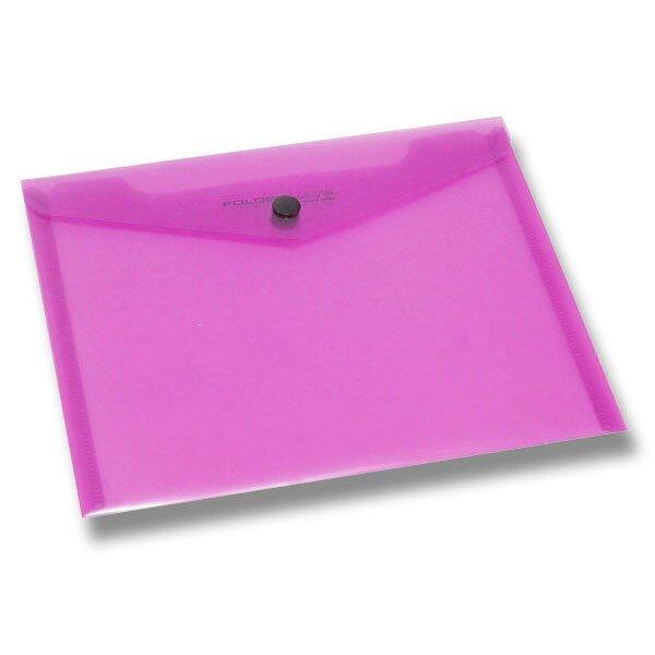 Spisovka s drukem FolderMate PopGear červená, A5