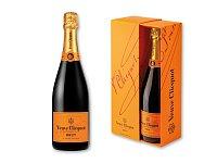 VEUVE CLICQUOT BRUT - šampaňské v dárkovém balení, 750 ml, objem alk. 12 %