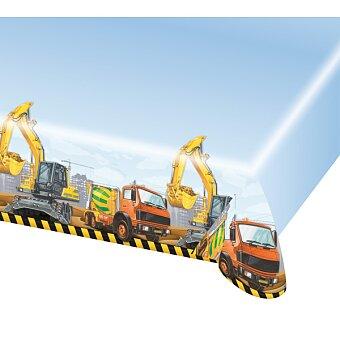 Obrázek produktu Plastový ubrus Construction - 120 x 180 cm